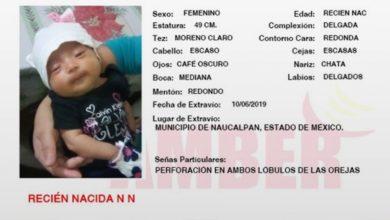 Photo of Localizan a bebé robada en registro civil