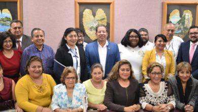 Photo of Atiende diputado Pozos Castro peticiones de Federación de Licenciados en Derecho