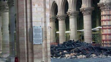 Photo of Descartan que incendio en Notre Dame haya sido intencional