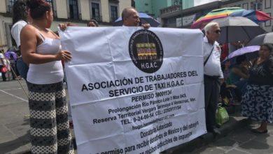 Photo of Taxistas exigen entrega de terrenos en el puerto de Veracruz