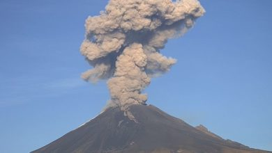 Photo of Intensa actividad en el Popocatépetl