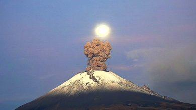 Photo of Popocatépetl registra 166 exhalaciones y nueve explosiones