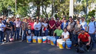 Photo of Aseguran comerciantes del Parque Juárez la sanidad en los espacios