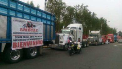 Photo of Protestan transportistas en San Lázaro