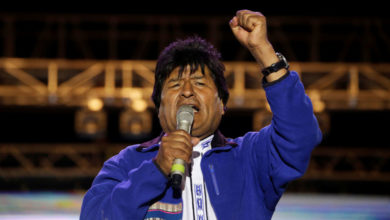 Photo of Insiste Evo Morales en negar  fraude electoral