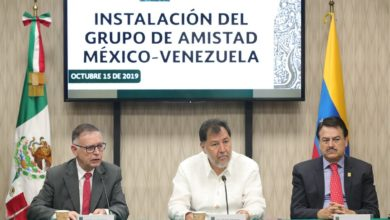 "Photo of Inauguran en San Lázaro grupo de amistad ""México – Venezuela"""