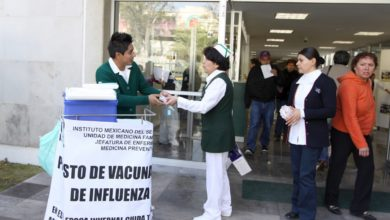 Photo of Inicia IMSS vacunación contra influenza estacional
