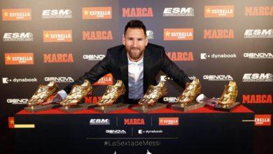 Photo of Messi recibe su sexta Bota de Oro
