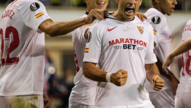 "Photo of ""Chicharito"" da triunfo al Sevilla sobre APOEL"