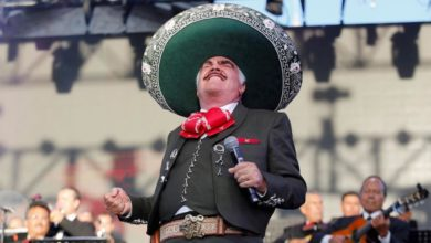 Photo of Rompe Vicente Fernández su promesa y vuelve a los escenarios