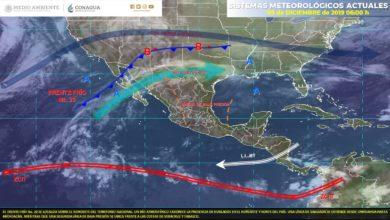 Photo of Se pronostican lluvias con intervalos de chubascos en Veracruz