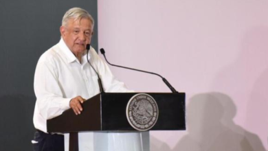 Photo of Expone López Obrador a paisanos beneficios que traerá el T-MEC