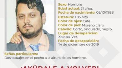 Photo of Desaparece sociólogo orizabeño en Xalapa