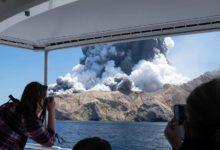 Photo of Whakaari hace erupción en Nueva Zelanda