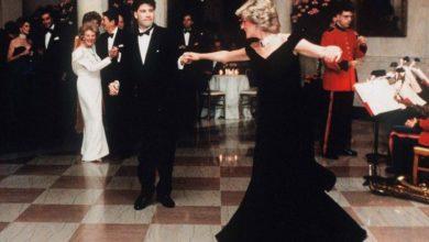 Photo of Subastan vestido de Diana con el que bailó con John Travolta