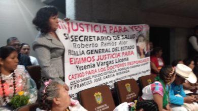 Photo of Se manifiestan en comparecencia de Ramos Alor