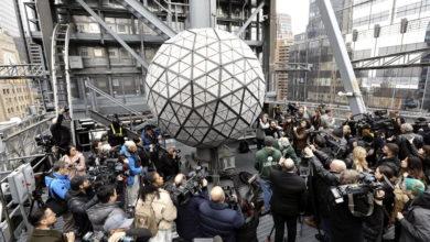 Photo of Cambio climático, tema de la esfera de Año Nuevo en Times Square