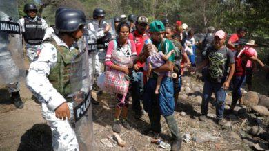 Photo of Informará Ebrard sobre enfrentamiento de migrantes y GN: AMLO