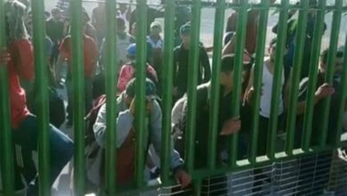 Photo of Migrantes se enfrentan a GN en la frontera sur de México