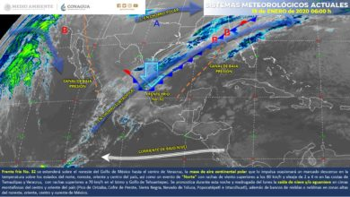 Photo of Advierten lluvias intensas y evento de norte en Veracruz