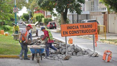 Photo of Avanza programa de bacheo  en calles y avenidas de Xalapa