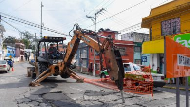 Photo of Inicia reparación de la calle Hidalgo