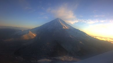Photo of Pico de Orizaba amanece cubierto de nieve