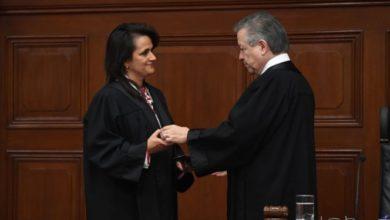 Photo of Asume como ministra de la Corte Margarita Ríos-Farjat