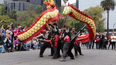 Photo of Festejan Año Nuevo Chino en Paseo de la Reforma
