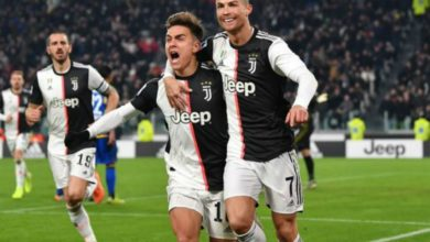 Photo of CR7 y Dybala se dieron accidental beso en festejo de la Juventus