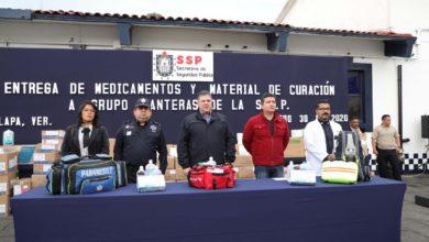 """Photo of Entrega SSP material de curación al Grupo """"Panteras"""""""