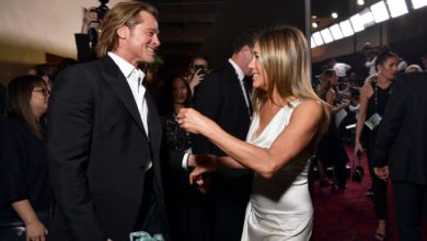 Photo of Brad Pitt y Jennifer Aniston se reencuentran en los SAG Awards