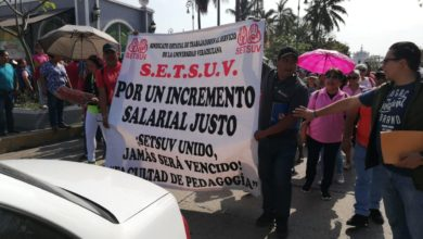 Photo of Marcha SETSUV para exigir aumento salarial