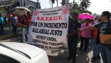 Photo of Marcha SETSUV para exigir aumento salarial