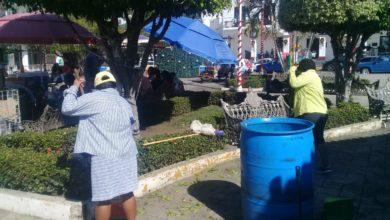 Photo of Continúa rehabilitación de parques y jardines en catemaco
