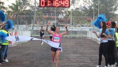 Photo of Ganan Espinoza y Cervantes medio maratón de Veracruz