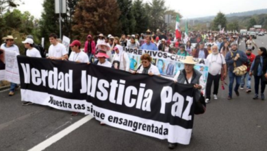 Photo of Video: Llega Caravana por la Paz a CDMX