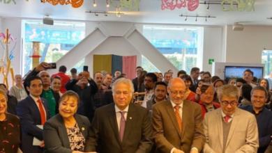 """Photo of Inauguran exposición """"Arte y Colores de la Ciudad de México"""" en Sectur"""