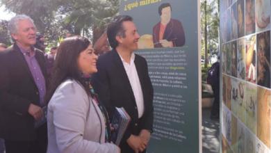 "Photo of Inaugura Gobernador galería móvil ""Diego Rivera. Artista universal"""