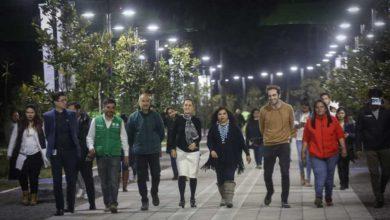 Photo of Inaugura Sheinbaum parque lineal en camellón