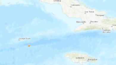 Photo of Otro sismo en el Caribe sacudió Islas Caimán