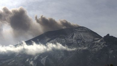 Photo of ¿Captan #OVNI  en el Popocatépetl?