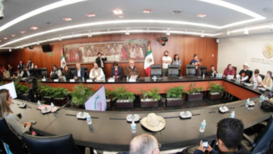 Photo of Senado recibió a comitiva de Marcha por la Paz