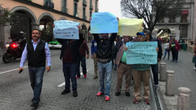 Photo of Marchan en Xalapa sindicalizados de CMAS