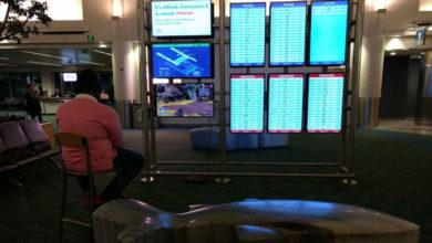 Photo of Para no aburrirse conecta su PS4 a una pantalla del aeropuerto