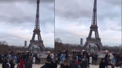 Photo of Mexicanos bailan La Chona en París y se hacen virales