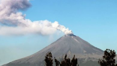 Photo of Volcán Popocatépetl emite 112 exhalaciones en las últimas 24 horas