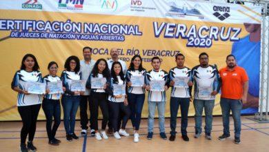Photo of Aprueban jueces veracruzanos certificación de natación