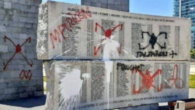 Photo of Vandalizan 11 memoriales durante crisis en Chile