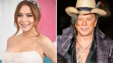Photo of Lindsay Lohan regresa al cine al lado de Mickey Rourke